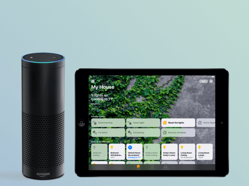 Amazon Echo and Apple HomeKit