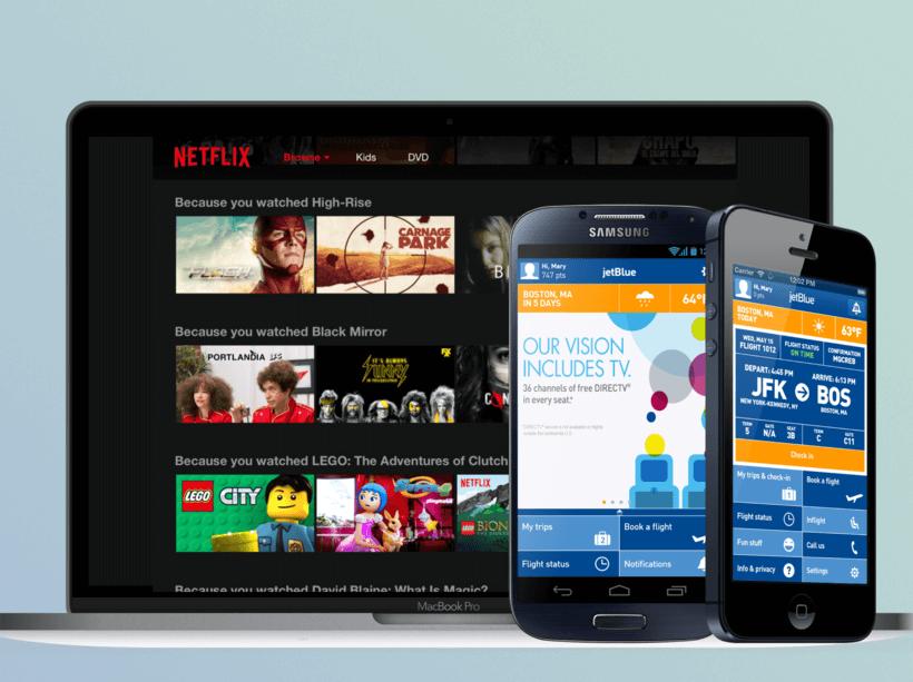 Netflix and JetBlue