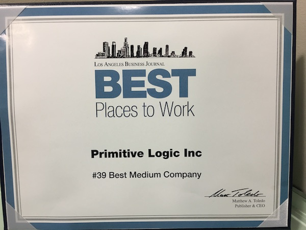 Best Places to Work in Los Angeles