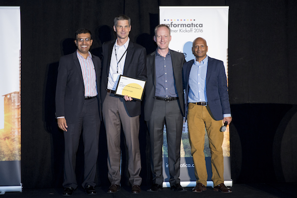 Informatica Presents Primitive Logic, the 2015 Cloud Emerging Growth Partner of the Year Award