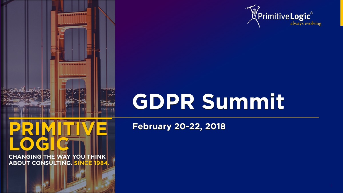 GDPR Webinar Summit February 2018