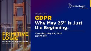 GDPR Why May 25 Is Just the Beginning